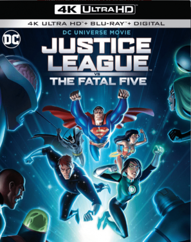 Justice League vs the Fatal Five 4K 2019
