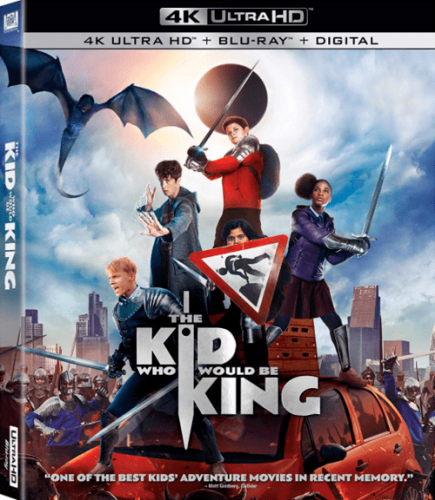 The Kid Who Would Be King 4K 2019