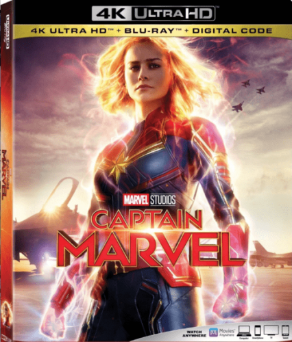Captain Marvel 4K 2019
