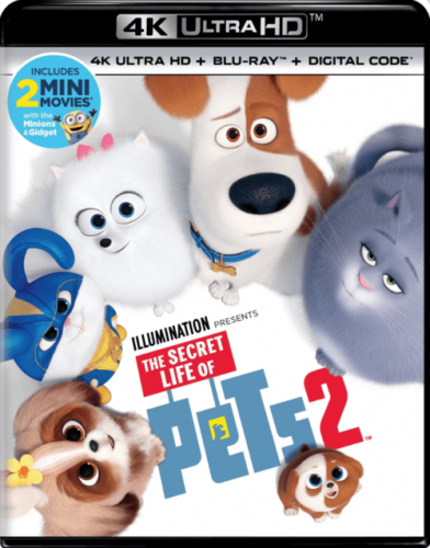 The Secret Life of Pets 2 4K 2019