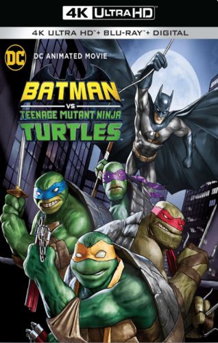 Batman vs Teenage Mutant Ninja Turtles 4K 2019