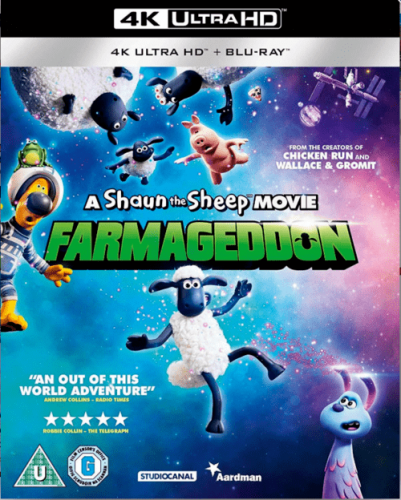 A Shaun the Sheep Movie Farmageddon 4K 2019