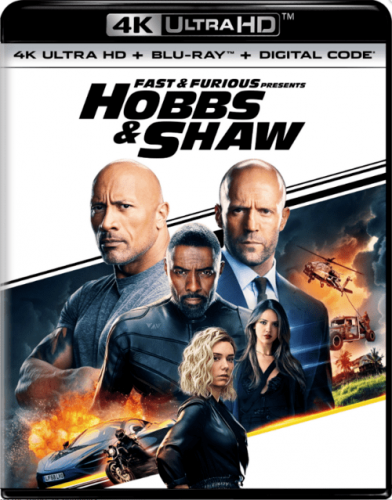Fast and Furious Presents Hobbs and Shaw 4K 2019