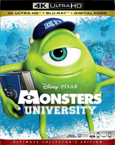Monsters University 4K 2013