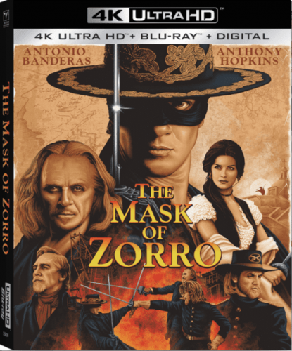 The Mask of Zorro 4K 1998