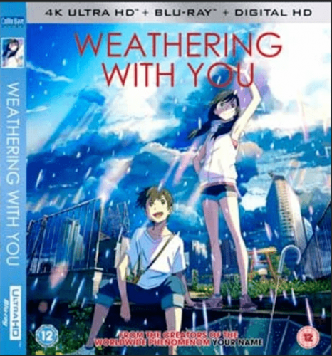 Weathering with You 4K 2019 JAPANESE