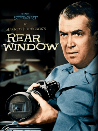 Rear Window 4K 1954